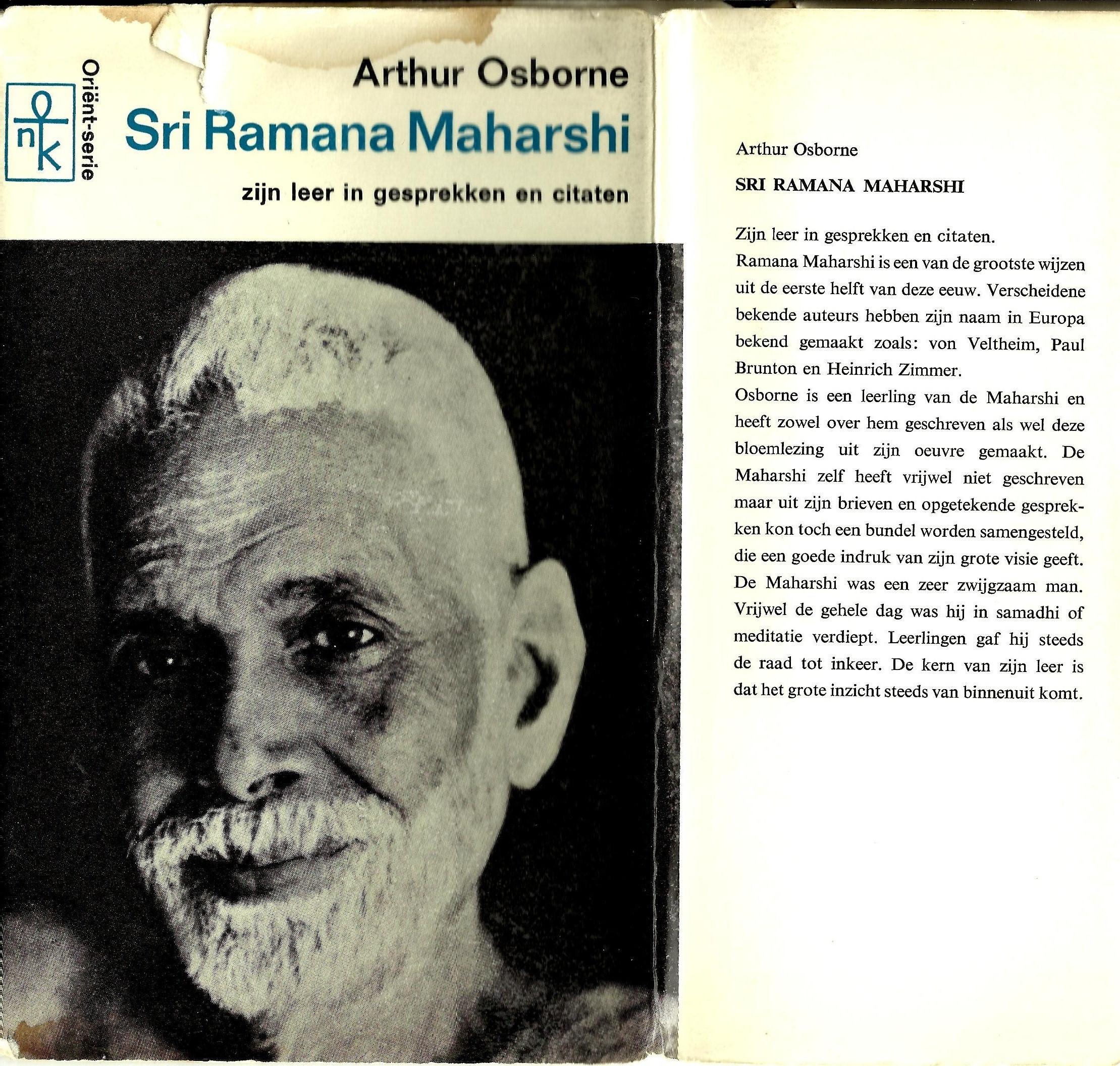 Bekende Citaten Uit Boeken : Arthur osborne sri ramana maharshi zijn leer in
